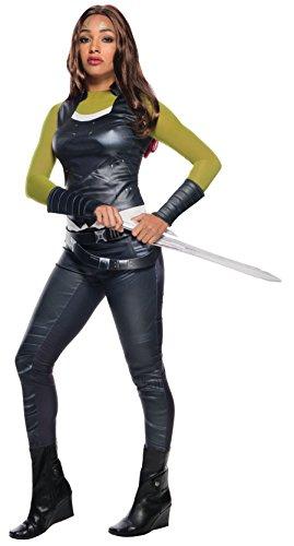 Gamora Marvel Kostüm - Rubie's 820662XS Gamora Deluxe Erwachsenenkostüm, Damen, Mehrfarbig, XS