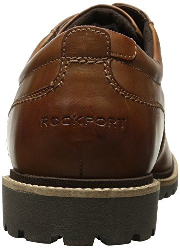 Uomini Rockport Cognac Di Pt Di Jordan Scarpe Oxford Pelle 4wOqZfw