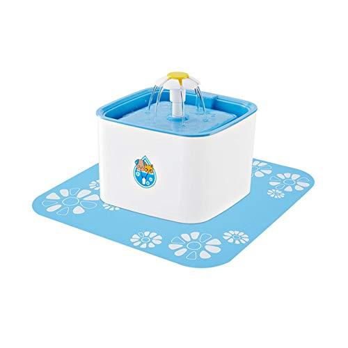 Prinbong fontana di acqua gatto automatico pet con led usb elettrico cane gatto pet bevitore bevitore mute pet potabile fontana