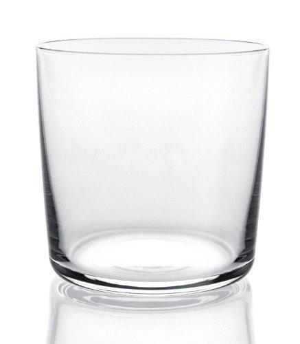 Alessi Ajm29/41 Glass Family Verre à Eau/long Drink en Verre Cristallin, Set de 4 Pièces
