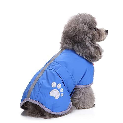 Amphia - Haustier Hund Klettjacke Mantel Kleidung,Kaltes Wetter -