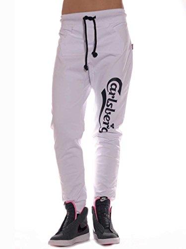 Pantalone Donna Carlsberg Bianco Cbd1189 M