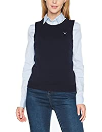 GANT Damen Top Superfine Lambswool Crew Vest