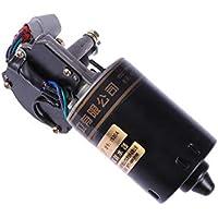 LIOOBO Motor del limpiaparabrisas Trasero del automóvil de 12V 50W Motor del limpiaparabrisas