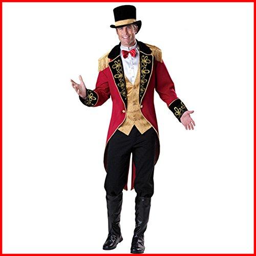 Gorgeous Halloween-Kostüm Cosplay männlichen Piraten Kleider Piraten Räuber Magier -Show ()