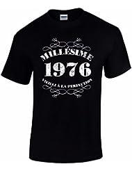 T-Shirt Anniversaire Homme 40 Ans Millésime 1976