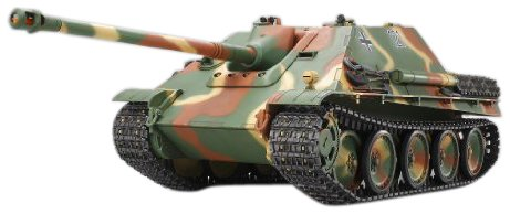 Tamiya 300056024 - Jagdpanther FullOptionKit, carro Armato telecomandato, Motore Elettrico, Scala 1:16