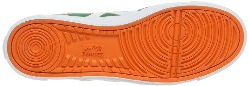 ASICS A-sist D413n - Scarpe da Ginnastica Basse Unisex – Adulto, Bianco (white 0142), 40 EU Verde(Grün (green 8401))