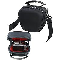 Heavy-duty EVA Hard Shoulder Bridge/Compact system Camera Case Bag Holder For Canon Sony Nikon Fuji Panasonic SAMSUNG Olympus And For Canon PowerShot G5 X,PowerShot G7 X Mark II,Canon PowerShot G9 X,PowerShot G1 X Mark II,PowerShot G7 X;Nikon DL18-50 F/1.8-2.8,DL24-85 F/1.8-2.8, NIKON 1 AW1,NIKON 1 J5,NIKON 1 V3;Fuji X-T10,X-A3,X-A10,X100T,X70;