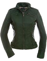 Größe 40 populärer Stil dauerhafte Modellierung Suchergebnis auf Amazon.de für: Grüne Lederjacke Damen ...