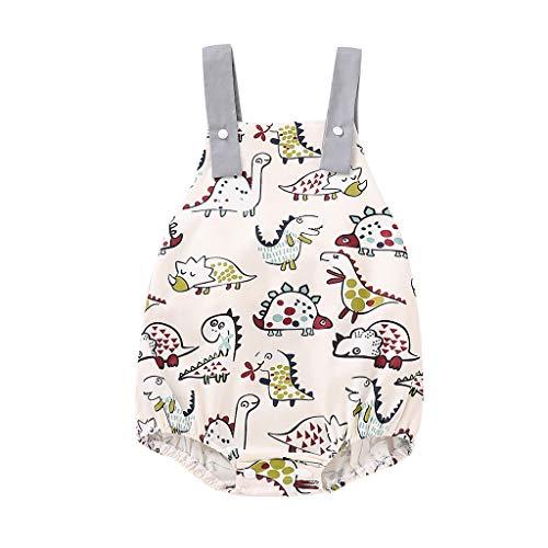 Säugling Strampler Newborn Girl Boy Cartoon Dinosaur Printed Bodysuit Romper Clothes (Nemo Girl Kostüm)