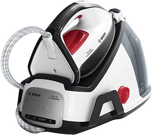 Bosch Serie | 6 EasyComfort TDS6040 - Centro de planchado, 2.400 W, 5.8 bares de presión, color blanco...