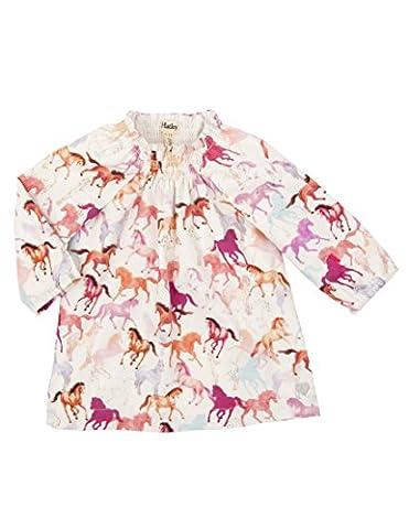 Hatley smocks Dress Neck - Pretty Horses - 6-12 months / 69-74cm