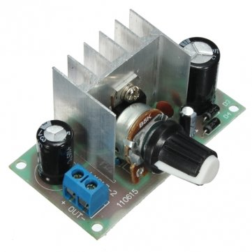 DC AC To DC LM317 Power Continuous Adjustable Voltage Regulator