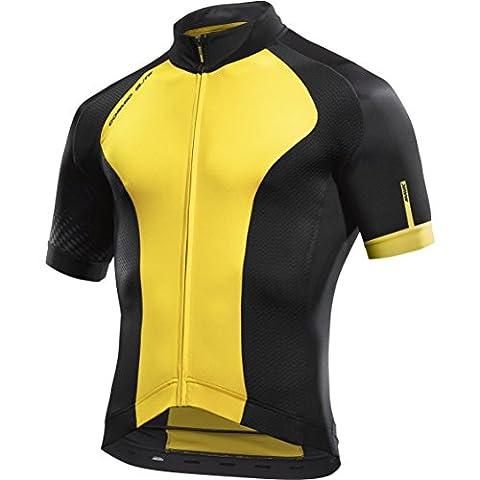 MAVIC Cosmic Elite Maillot de vélo court noir/jaune 2017