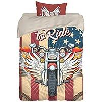 Amazon Es Harley Davidson Ropa De Cama Y Almohadas Textiles Del