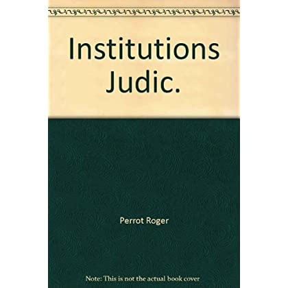 Institutions judiciaires (Precis Domat)