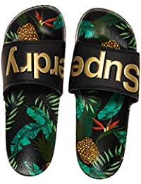 Superdry Beach Slide, Chanclas para Mujer