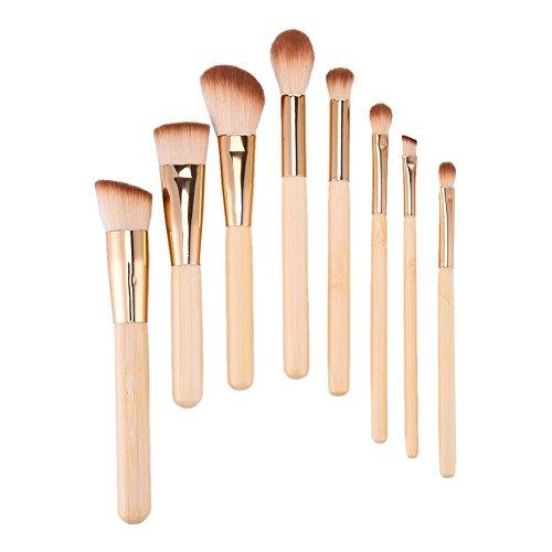 LianLe®8 pcs Pinceaux à Maquillage Make Up Tool Set Professionnelle