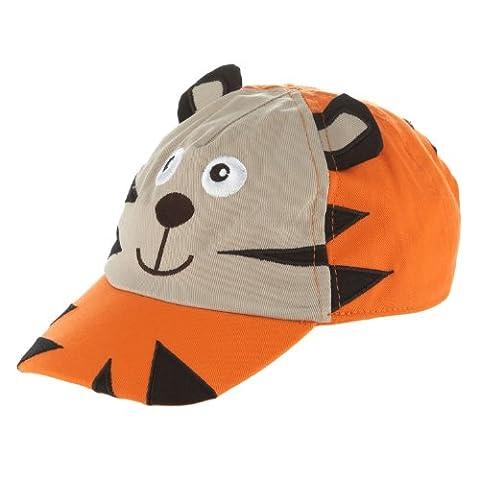 Bluezoo Orange Tigre Baseball Chapeau Bébé réglable Sun Cap Taille 12–24mois