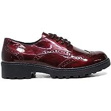 Francesine donna GEOX scarpe derby nere 38