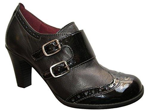 Hispanitas, Scarpe col tacco donna nero Size: 36