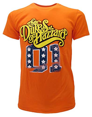 The Duke of Hazzard T Shirt Originale Maglia Serie TV Generale Lee 01 Maglietta Prodotto Ufficiale