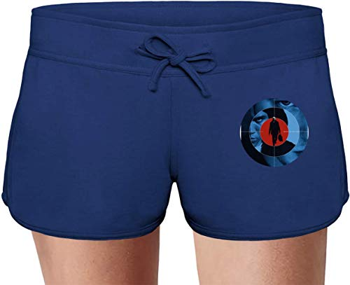 Movie Stars Merchandise Harry Brown Summer Sweat Shorts for Women & Ladies | 80% Cotton-20% Polyester Fashion Unique & Custom Briefs, Bermudas, Underpants, Slacks & Sports Clothing by Small -
