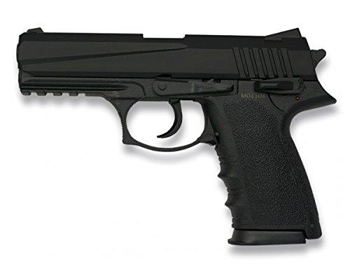 Pistola AIRSOFT.Pesada. Negra. HFC.Munición: Bolas PVC - 6mm.Accionamiento: Muelle.Potencia 0,29 julios
