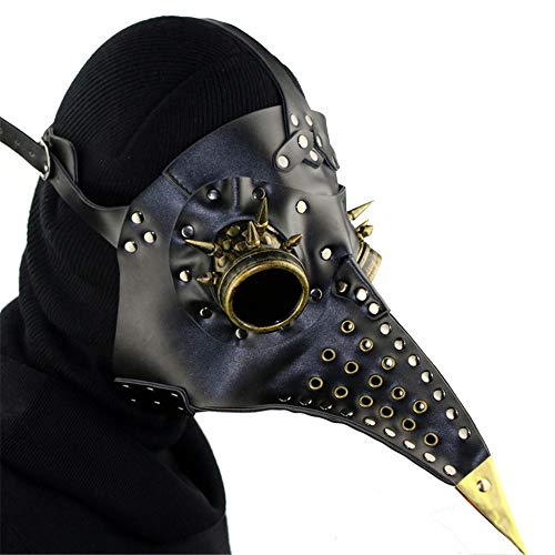 QAR Steampunk Pest Schnabel Maske Halloween Requisiten Geschenk Gamepad