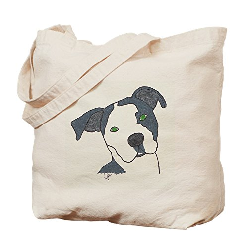 CafePress–Brindle–Leinwand Natur Tasche, Reinigungstuch Einkaufstasche Tote S khaki (Pit Bull Bully)