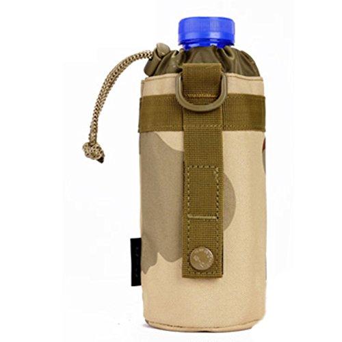 Bottiglie d'acqua all'aperto e tappo di bottiglia/ borsa borraccia montagna/[borse alpinismo bollitore]-A E