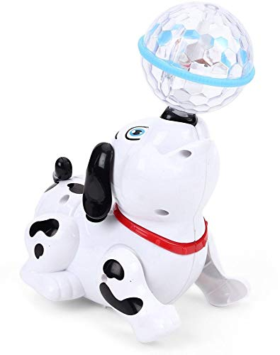 Popsugar Dancing Dog for Kids (White,TH007)