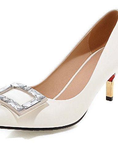 WSS 2016 Chaussures Femme-Extérieure / Bureau & Travail / Décontracté-Noir / Rose / Rouge / Blanc / Argent / Or / Pêche-Talon Aiguille-Talons- pink-us10.5 / eu42 / uk8.5 / cn43