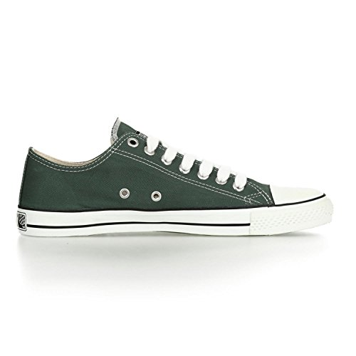 Ethletic Sneaker LoCut – reseda green / white – stylische fair trade Schuhe - 5