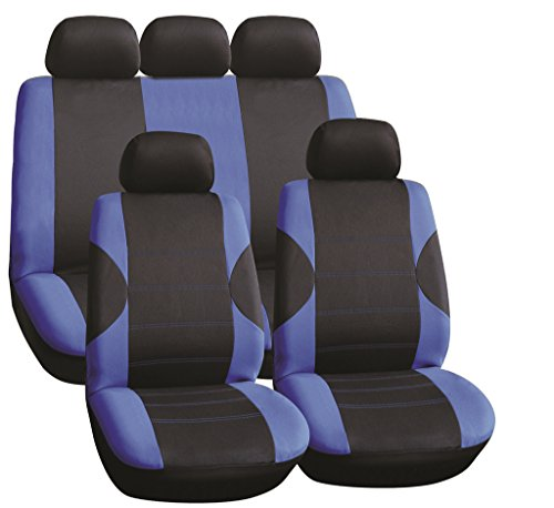 saab-9-5-95-saloon-10-11-full-set-luxury-seat-covers-front-rear-black-blue-racing