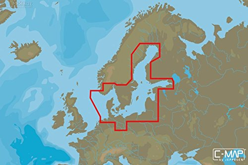 C-MAP - MAX-N WIDE - Baltic Sea and Denmark - µSD/SD-Karte C-map Karte