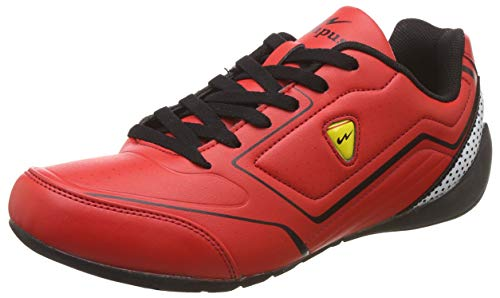 3. Campus Men's Flash Red Running Shoes