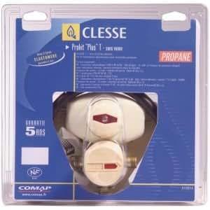 Clesse - Kit d installation detente avec vanne et lyres inox PROKIT Plus T Propane MM20x150 - a souder D.12