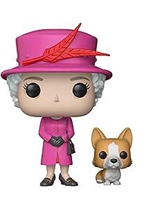 Divertida Figura Pop de la reina Isabel II de Inglaterra de la prestigiosa marca Funko Pop. Reproducción en vinilo de 10 cmPesos y medidas:- Peso: 0,20