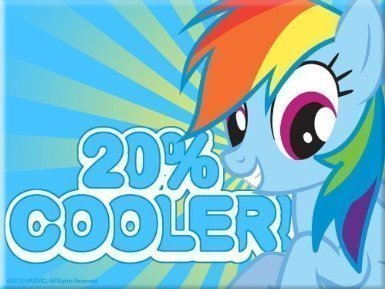 dship Is Magic Magnet (Rainbow Dash 20% Cooler) (Rainbow Dash 20)