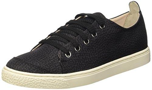 Borbonese Sneakers Scarpe da Tennis Donna, Nero 37 EU