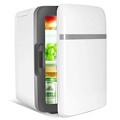 Preisvergleich Produktbild Mini-Kühlschrank, 10 l, 12V, Auto-Kühlschrank, für Auto/Zuhause, Heiß/Kalt, Mini-Gefrierschrank