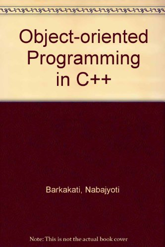 Pdf Download Object Oriented Programming In C Full Pages By Nabajyoti Barkakati 654erdft6tfdr5rqwe