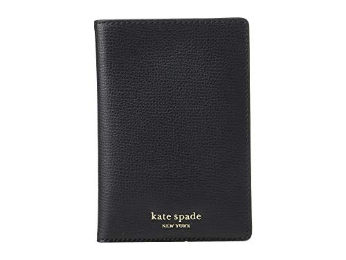 Women's Sylvia Passport Holder, Black, One Size ()