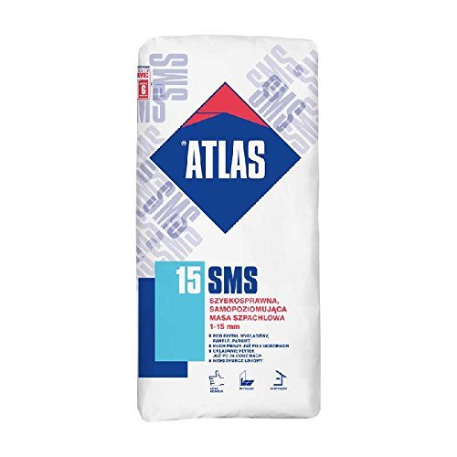 ATLAS SMS 15 - Ausgleichsmasse schnellbindende selbstnivellierende Spachtelmasse 1-15 mm