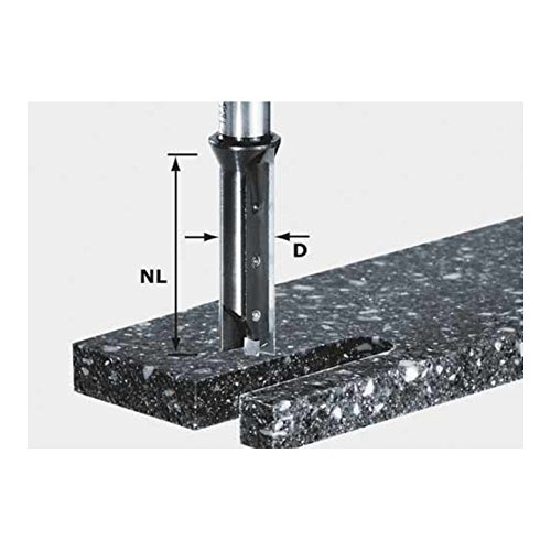Preisvergleich Produktbild FESTOOL Wendeplatten-Nutfräser HW 14 x 45 mm Schaft 12 mm, 1 Stück,491110