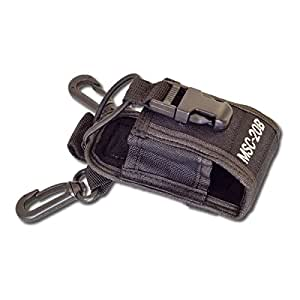 QUMOX MSC-20B Multi-fonction sac / case en nylon pour Baofeng Kenwood Motorola Two-Way Radio