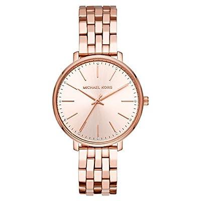 Michael Kors Reloj Analógico para Mujer de Cuarzo con Correa en Acero Inoxidable MK3897