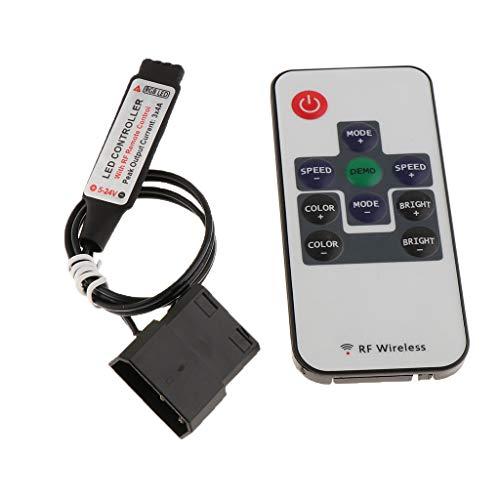 Homyl Mini-RGB-Infrarot-LED-Streifenlicht-Controller Mit 12-24 V Spannung Infrarot-led-spannung
